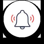 bell alert icon